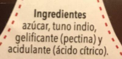 Cactus - Ingredients - es
