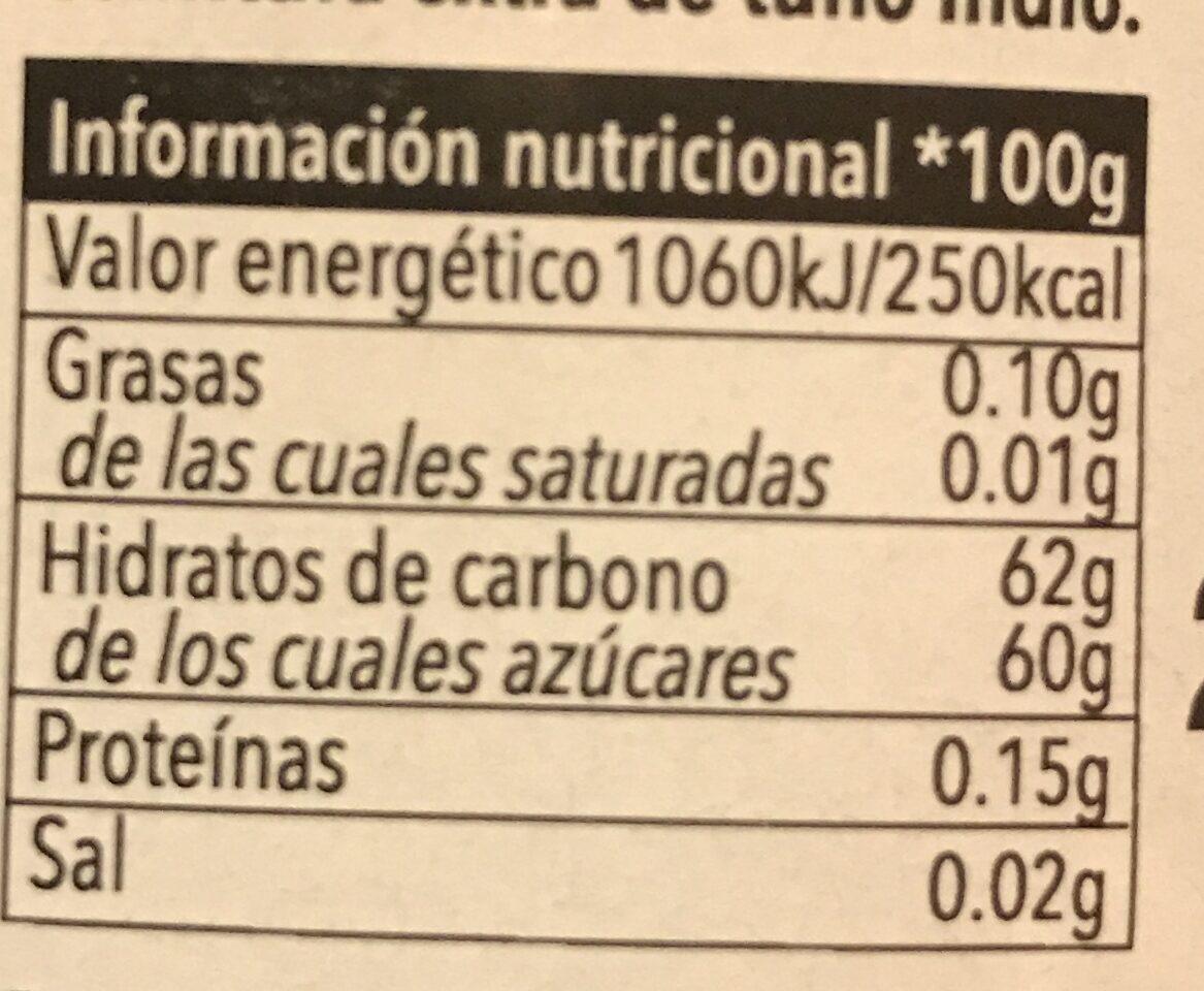Cactus - Nutrition facts - es