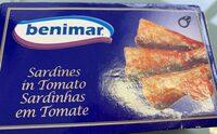 Sardines tomate - Product - fr
