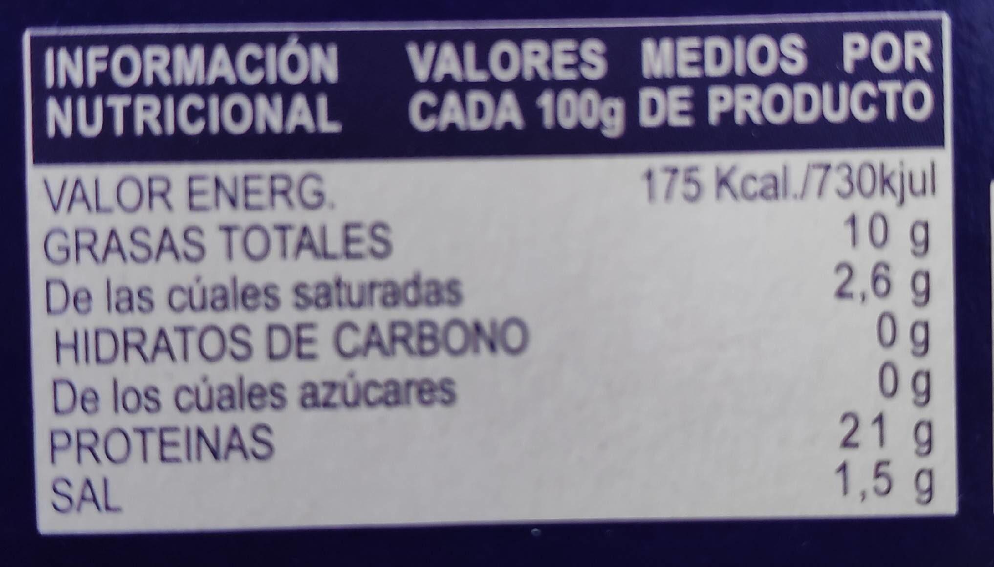Sardines sauce escabeche - Voedingswaarden - fr