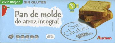 Pan de molde sin gluten - Producto - es