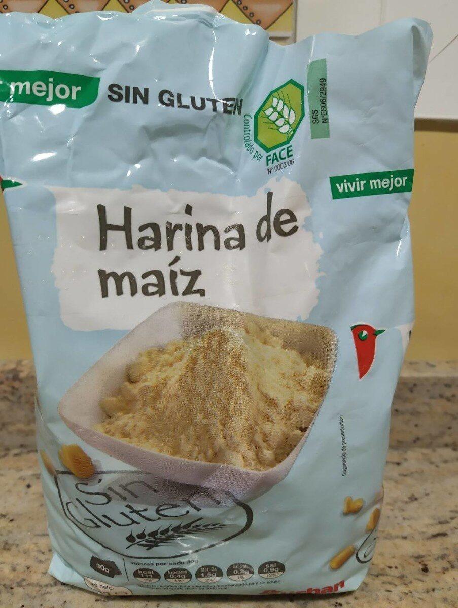 Harina de maíz sin gluten - Producto - es