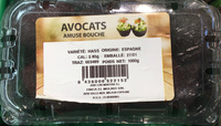 Avocats bio Pre-muri - Produit - fr