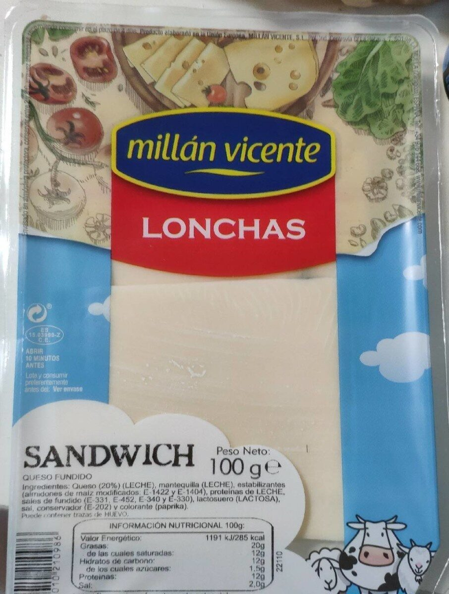Queso lonchas - Product - es