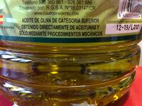 Molinos del Jabalón - Ingredientes