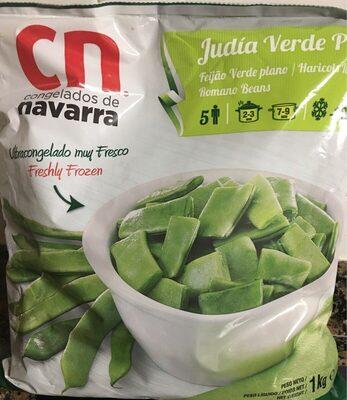 Judia verde plana - Product
