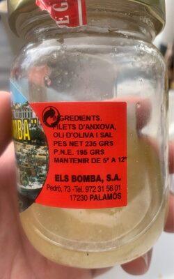 CONSERVES EL BOMBA - Informations nutritionnelles - be