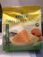 Pan rallado - Producto