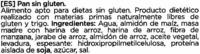 Panecillos sin gluten - Ingredientes