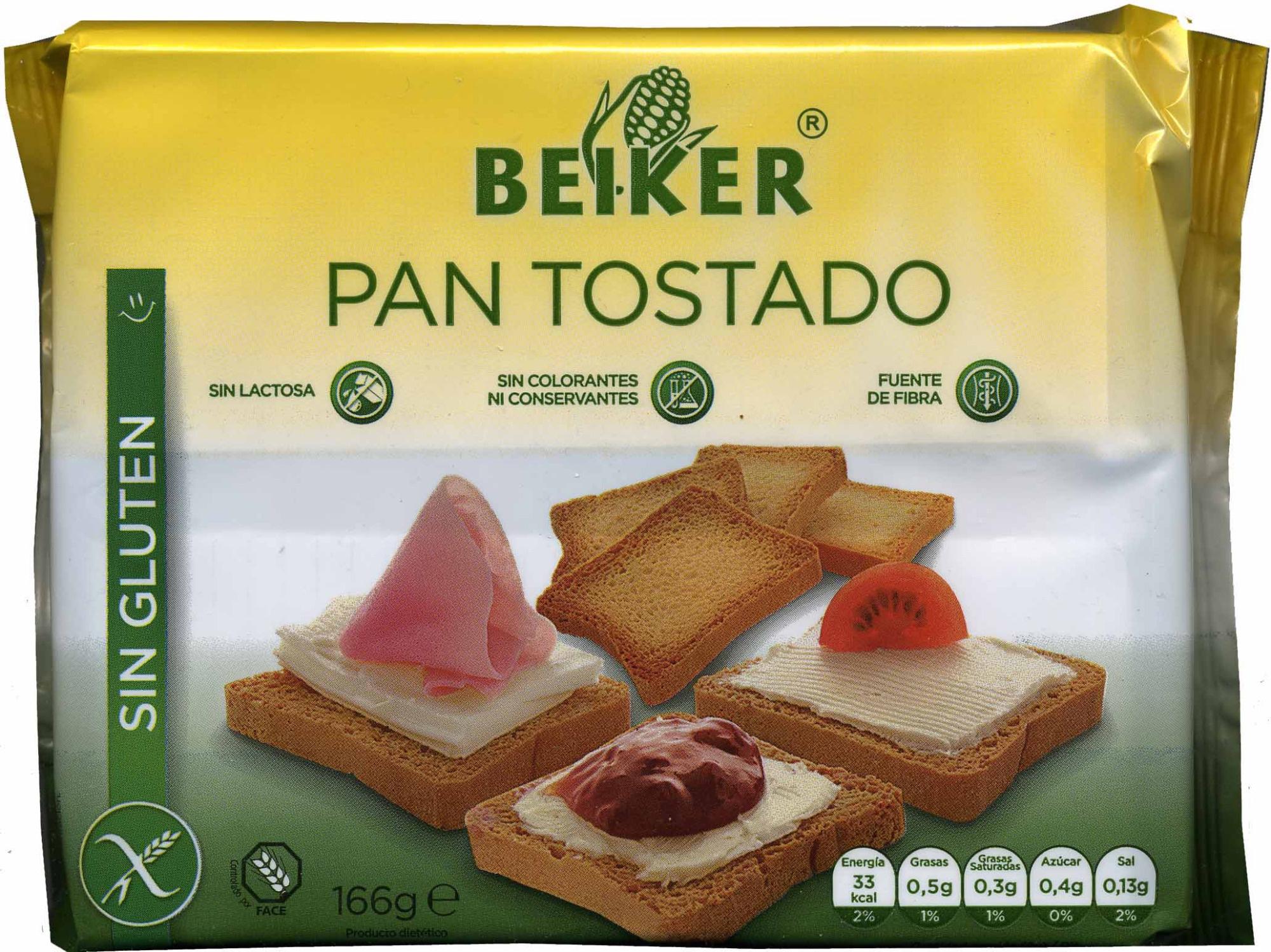 Pan tostado sin gluten - Producto - es