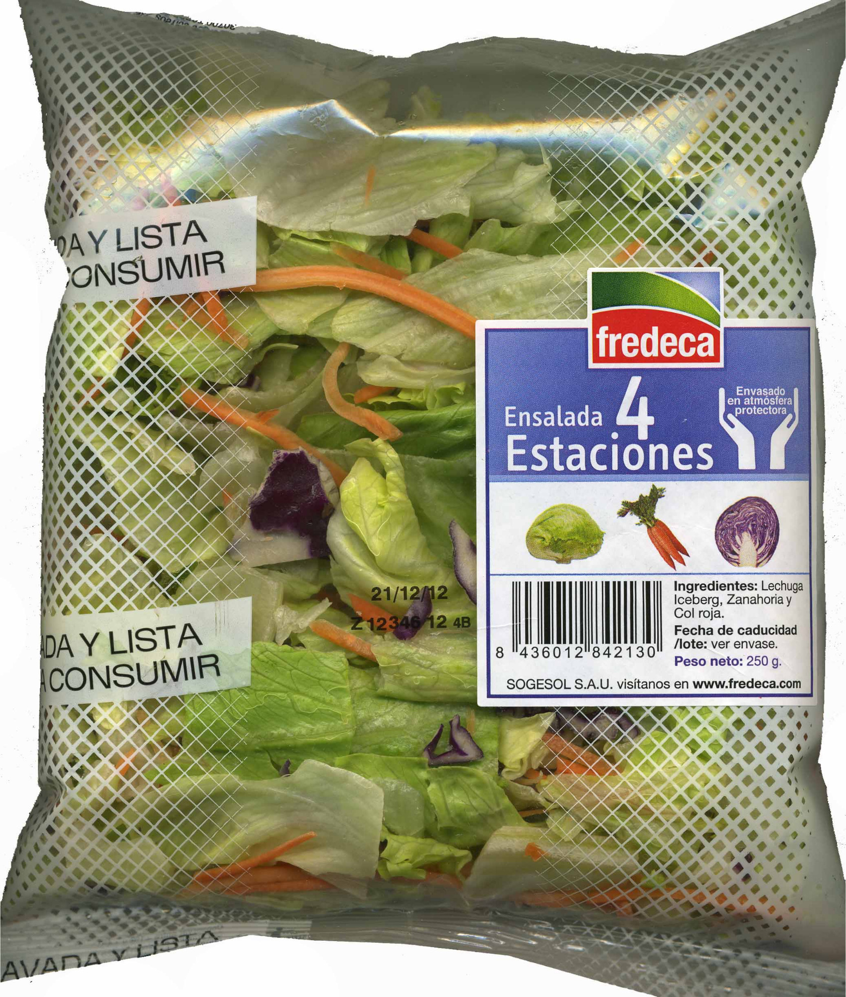 Ensalada 4 Estaciones - Product - es