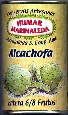 Alcachofas enteras en conserva 6/8 frutos