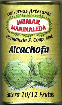 Alcachofas enteras en conserva 10/12 frutos - Producto