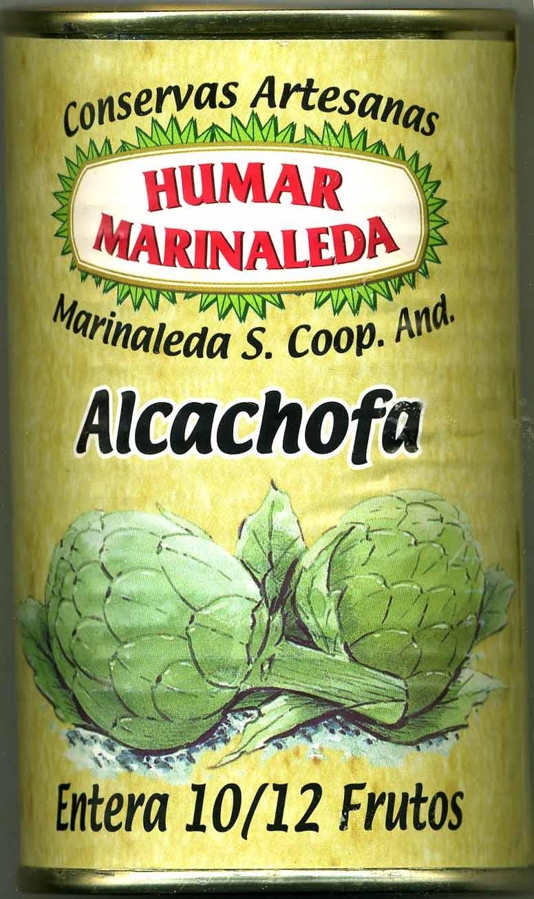 Alcachofas enteras en conserva 10/12 frutos - Producto - es