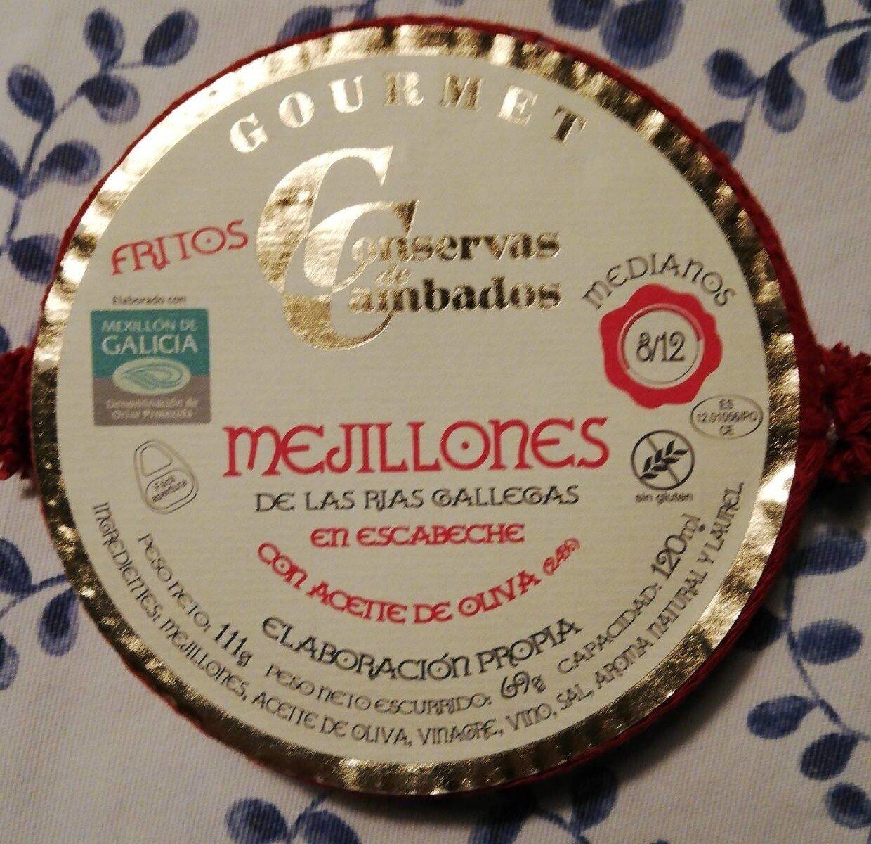 Mejillones de las rías gallegas - Produit - es
