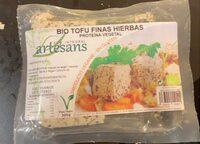 Bio tofu finas hierbas - Produit - es