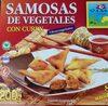 Samosas de vegetales con curry - Produit