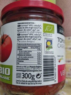 Tomate casero - Producto