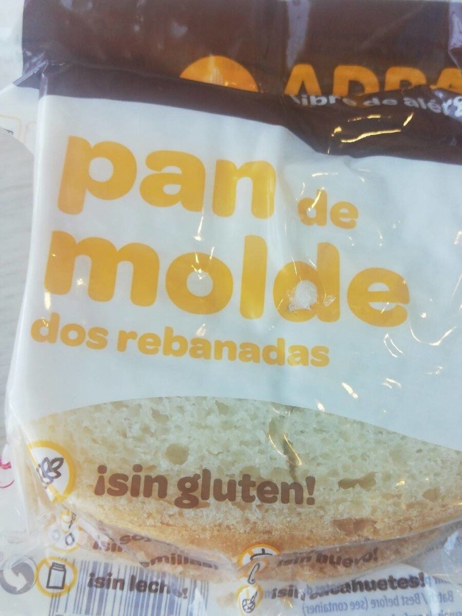 Pan de molde sin gluten - Product