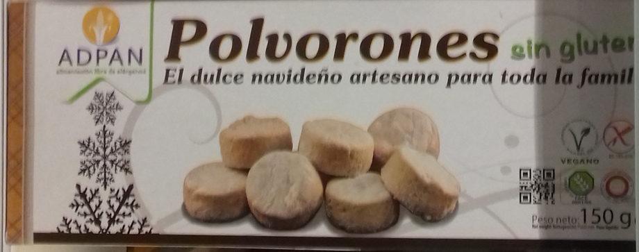 Polvorones sin gluten - Produit