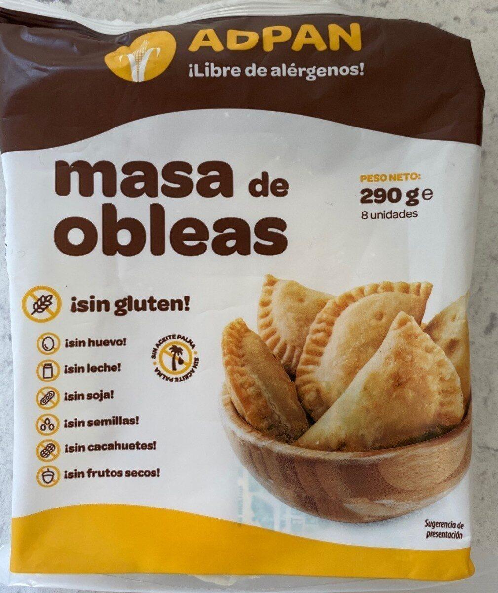 Masa de obleas - Product - es