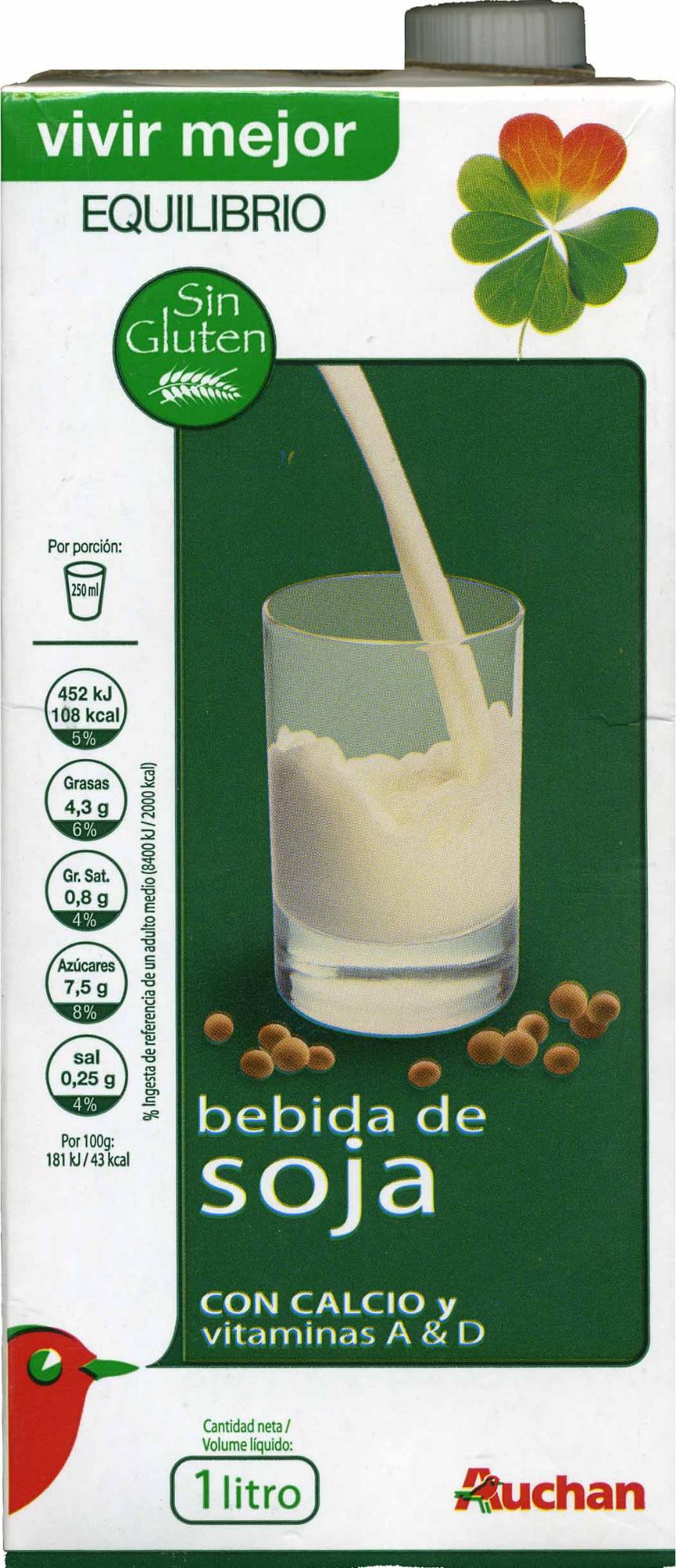 Bebida de Soja - Producte