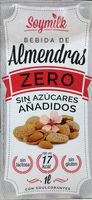 Bebida de almendras Zero sin azúcares añadidos - Producto