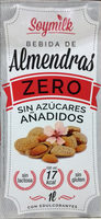 Bebida de almendras Zero sin azúcares añadidos - Produit