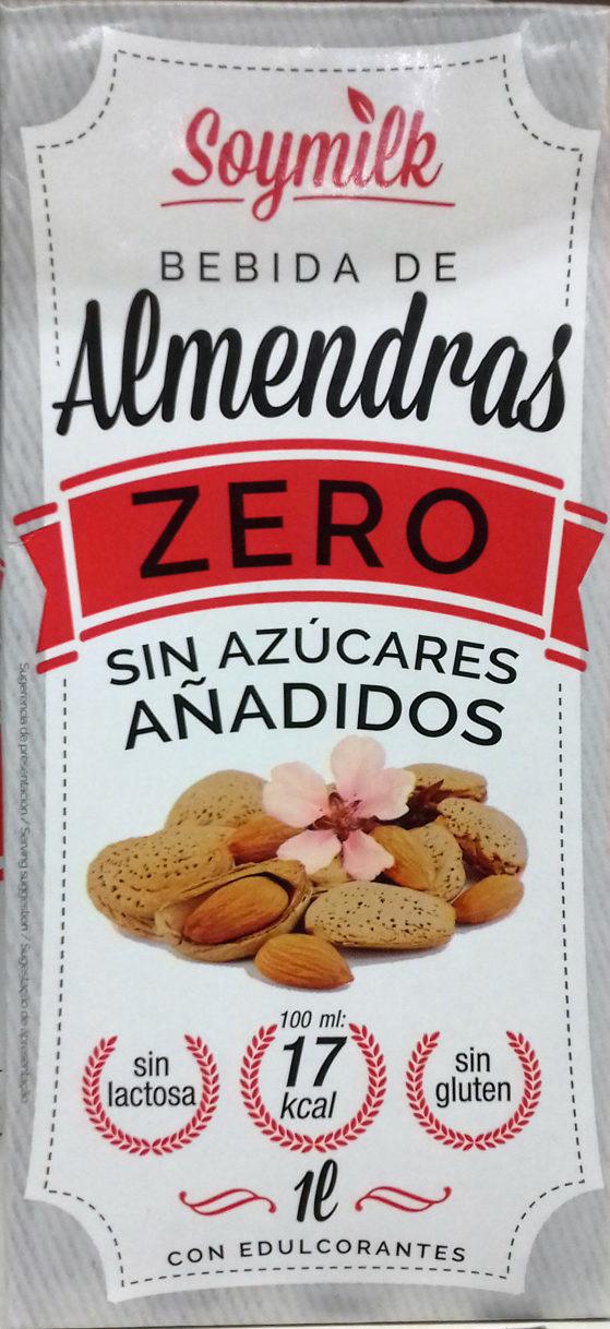 Bebida de almendras Zero sin azúcares añadidos - Producto - es