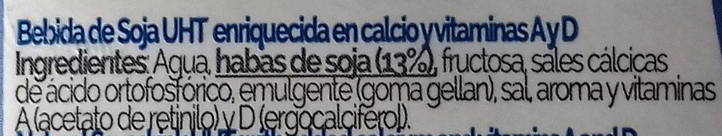 Soja - Ingredientes