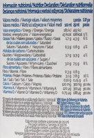 Soja - Información nutricional