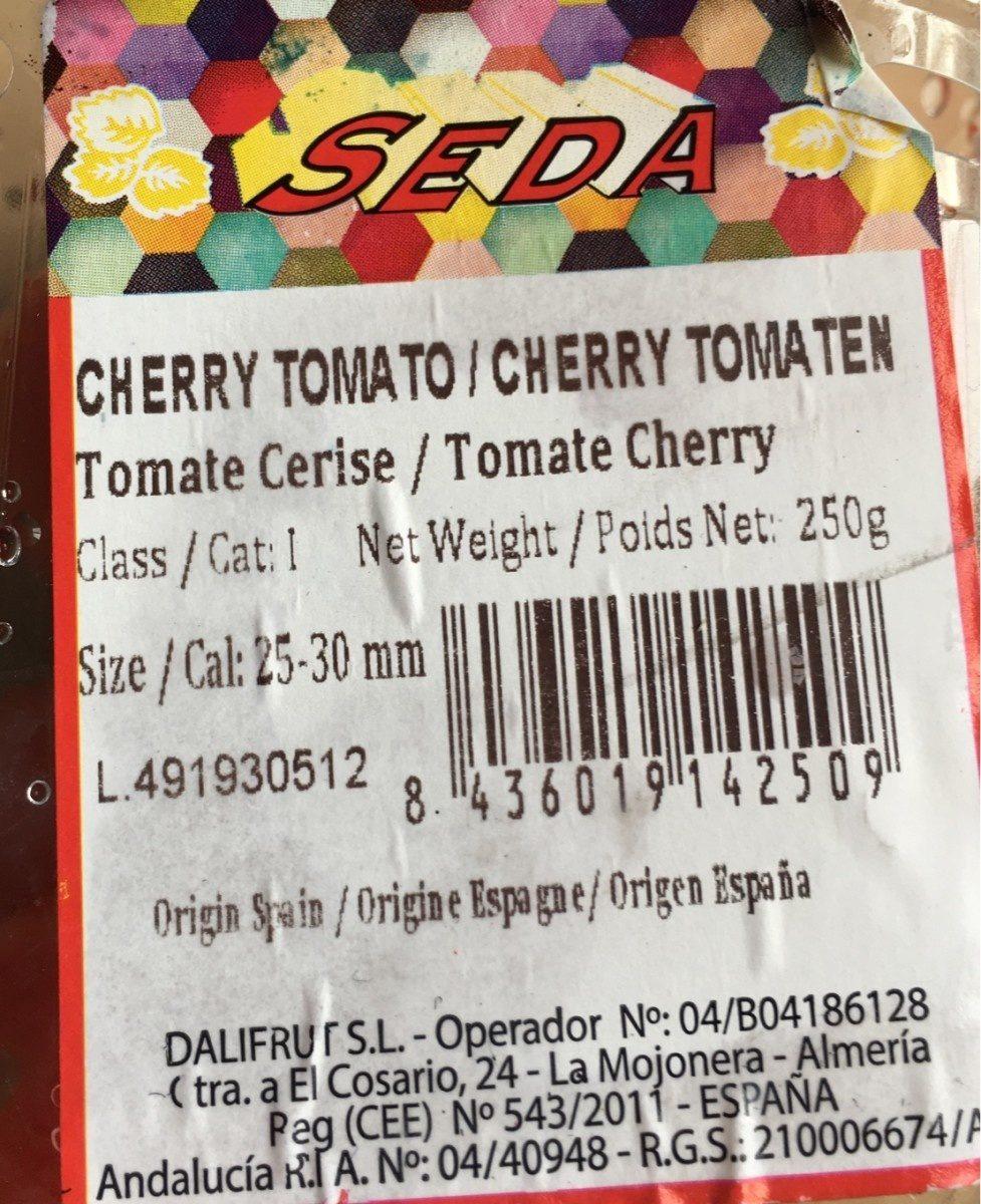 Cherry tomato - Ingredientes - fr