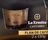 Flan de café La Ermita - Producto