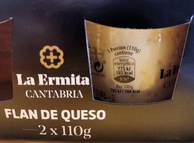 Flan de Queso La Ermita - Producto