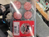 Mini burger vacuno/cerdo - Producte