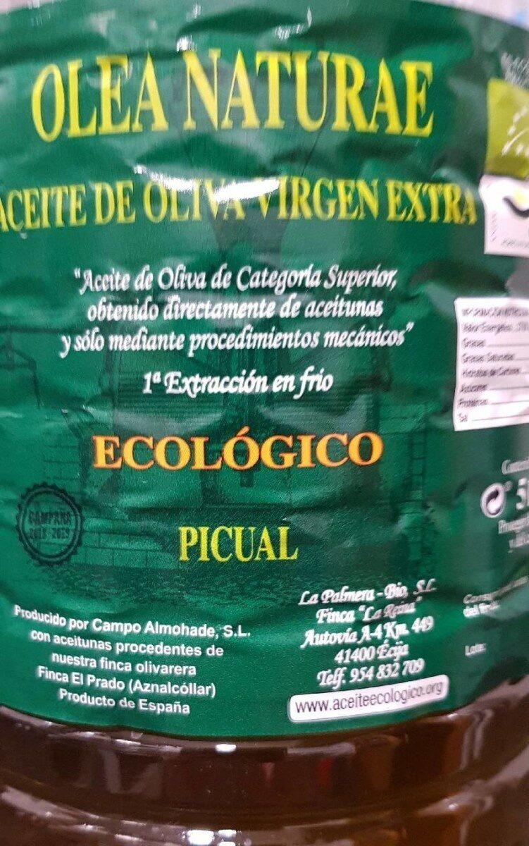 Aceite de oliva virgen extra picual - Product - es