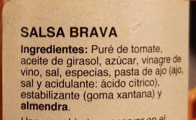 Salsa Brava - Ingredients
