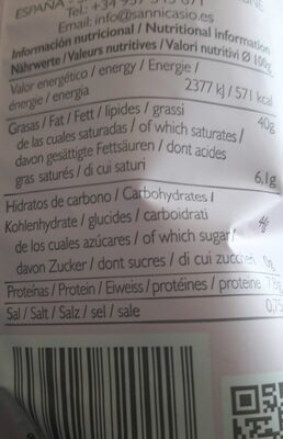 San Nicasio Potato Chips Evo 40G - Product - fr