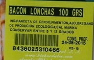Bacon extra lonchas - Ingredients