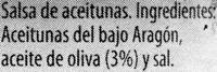 Olivada - Ingredients
