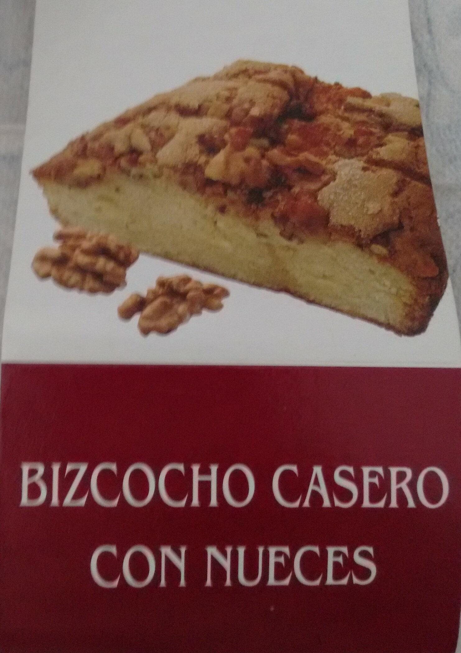 Bizcocho casero con nueces - Producto - es