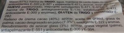 Crissant relleno - Ingredientes - es