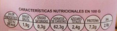 Cocktail de Picos - Voedingswaarden - es