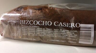Bizcocho casero - Producte - es