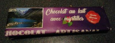 chocolat au lait avec myrtilles - Product - fr