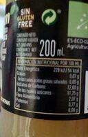 Zumo de pera - Nutrition facts