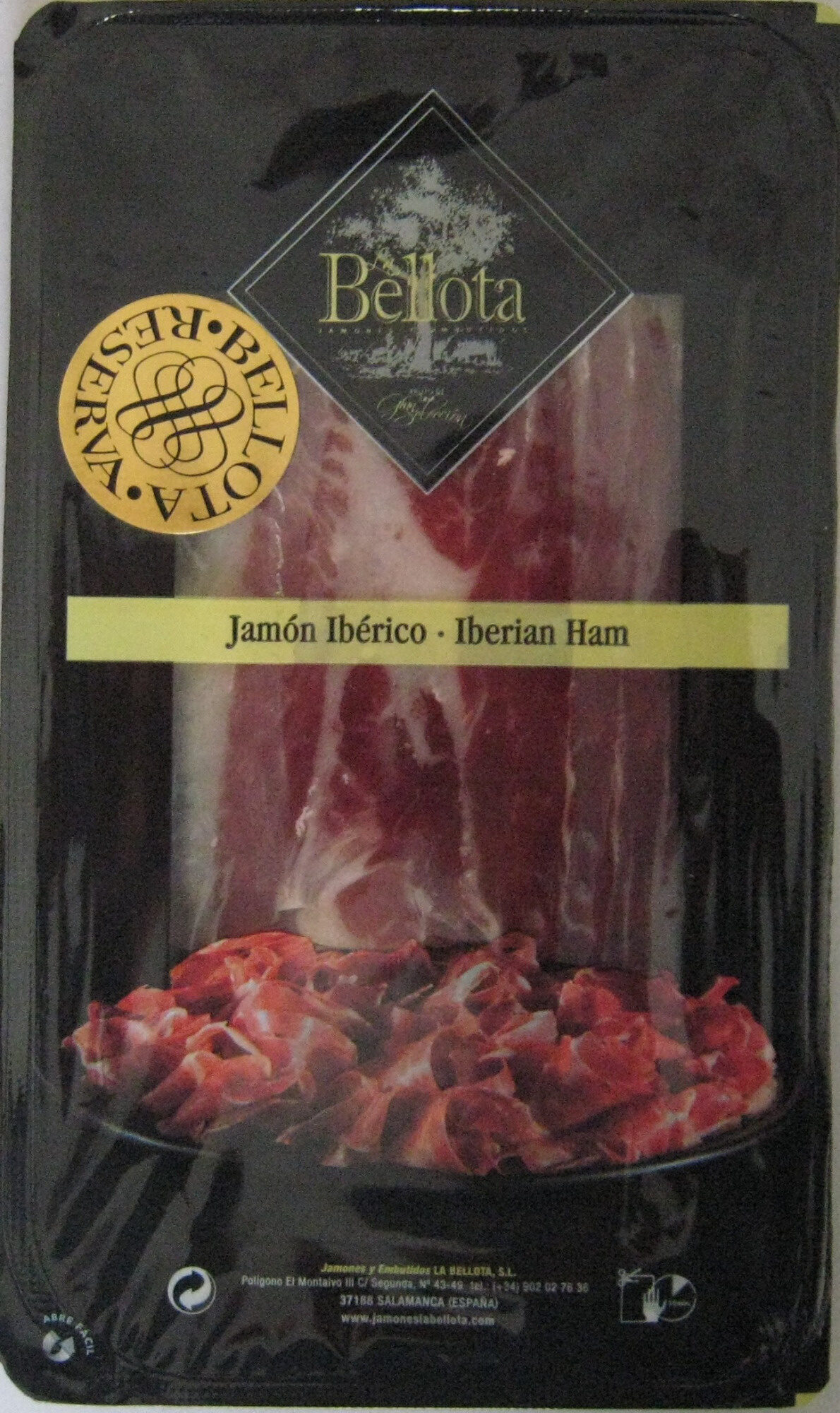 Jamón Ibérico 100 g de Bellota - Produit - es