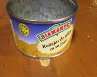 Rodajas de piña en su jugo - Producto