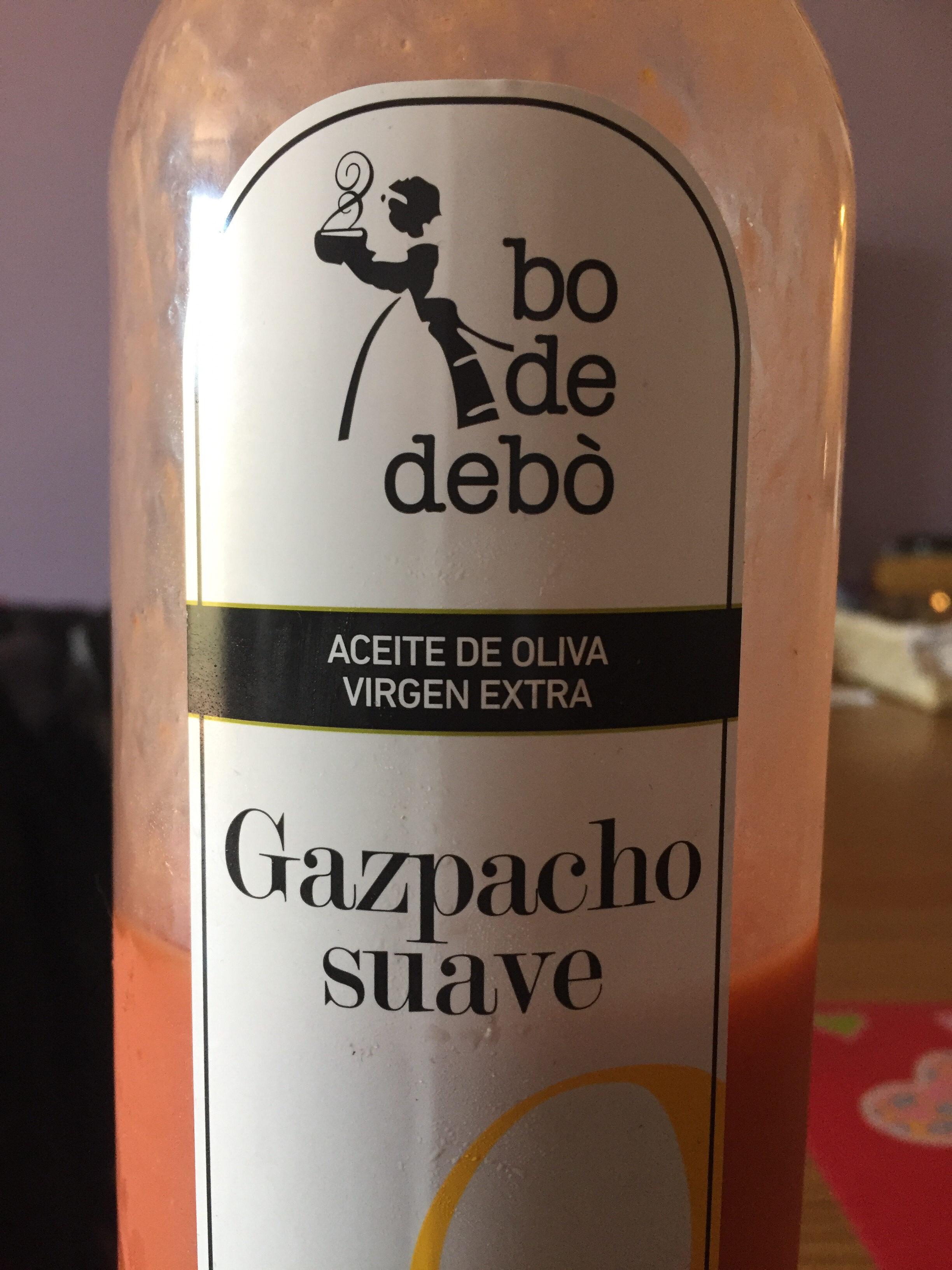 Gazpacho suave - Producto - ca