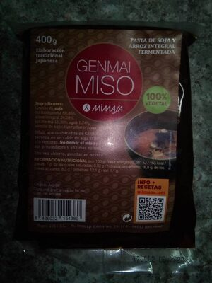 Genmai Miso - Product
